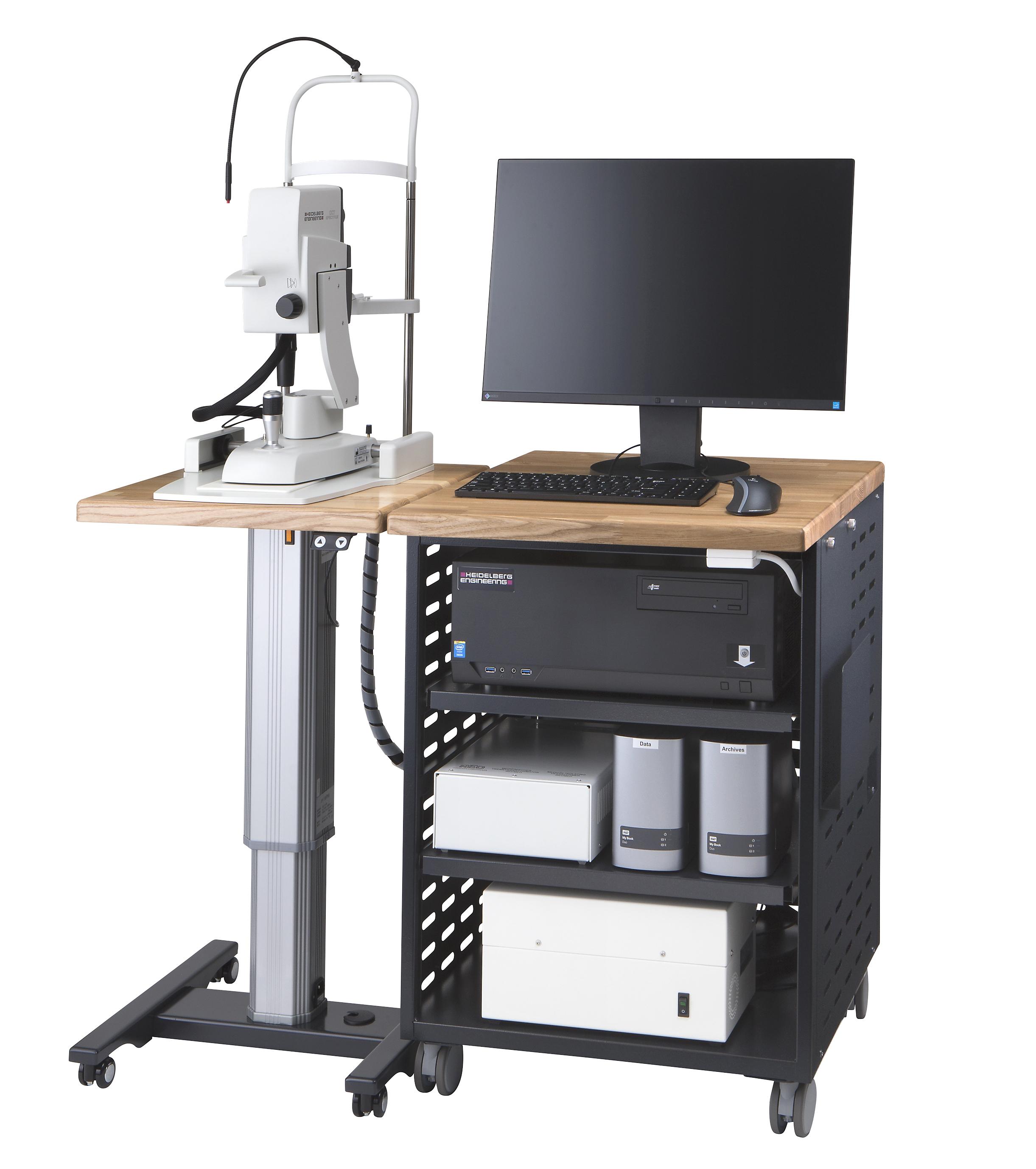 最高レベルの光干渉断層計のドイツ ハイデルベルグ エンジニアリング社製スペクトラリスOCTを導入しました。